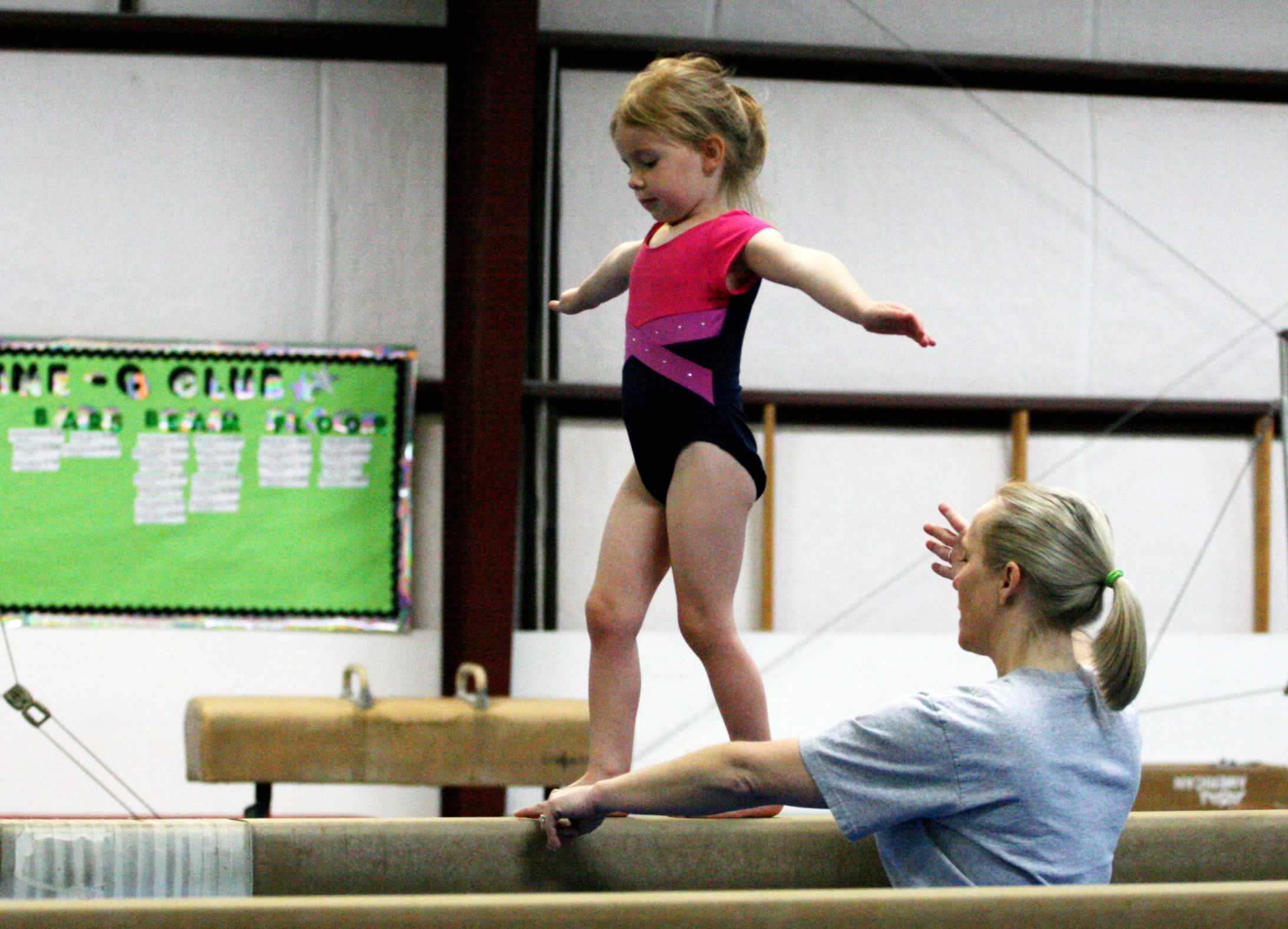 images of Preschool Gymnasts Photo Picture Image And Wallpaper